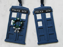 Doctor Who Tardis Polymer Clay Decoration