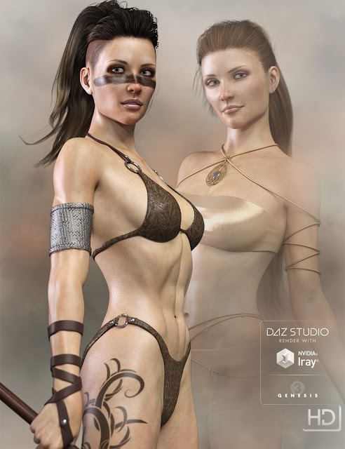 LY Adair HD for Genesis 3 Female