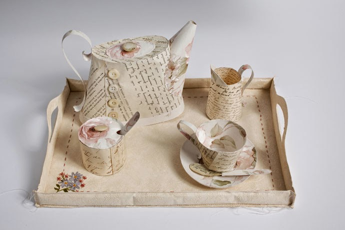 11-Tea-Set-Jennifer-Collier-Stitched-Paper-Sculptures-www-designstack-co