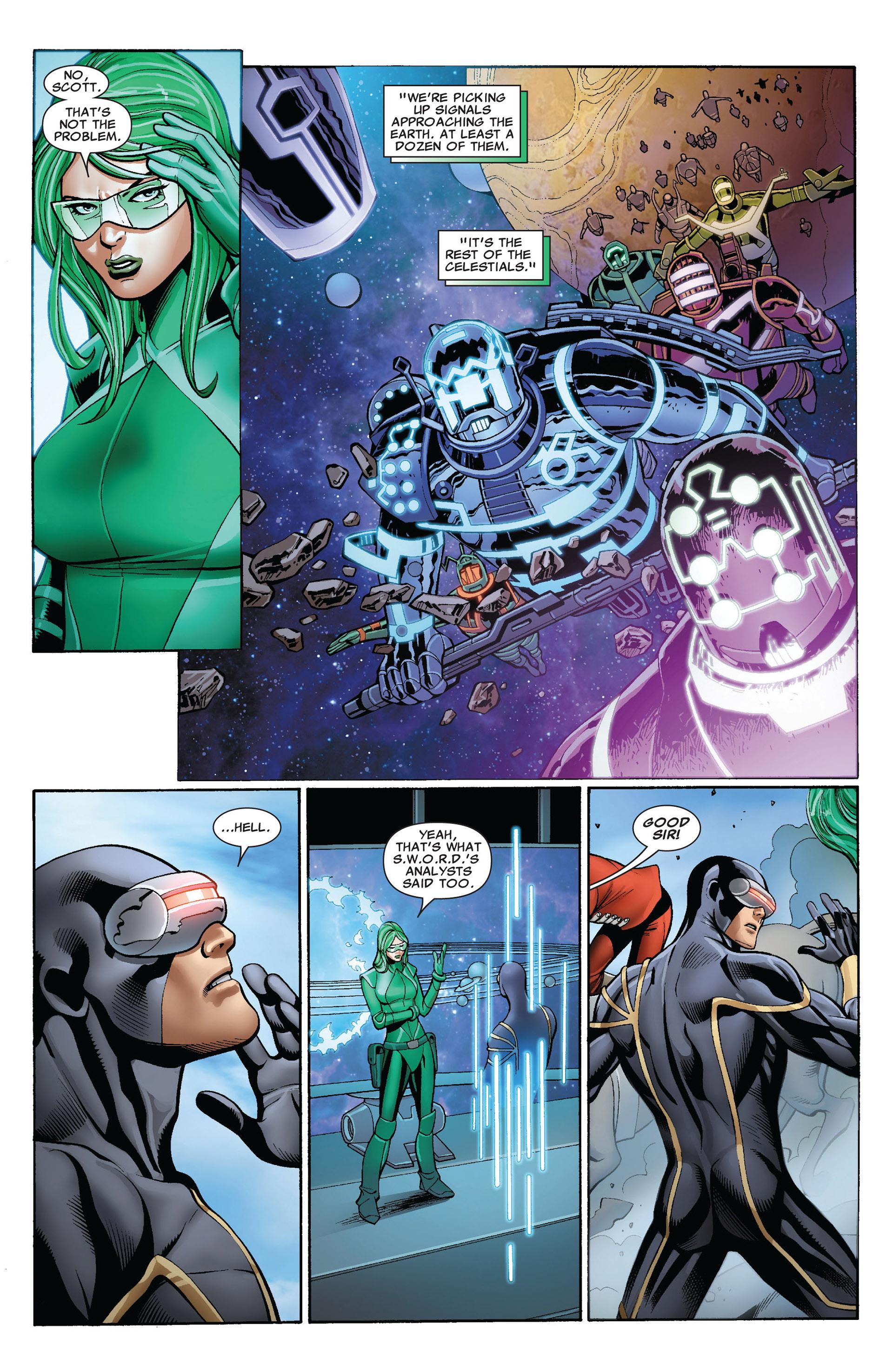 Read online Uncanny X-Men (2012) comic -  Issue #2 - 6