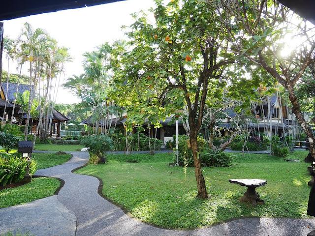 Tropical Garden di Hotel Vila Lumbung