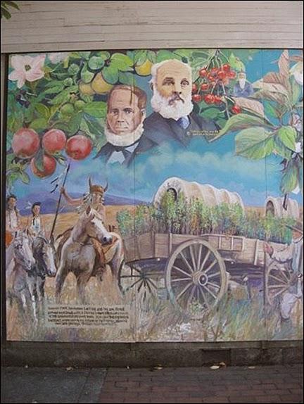 Clackamas County Bing Cherry Mural