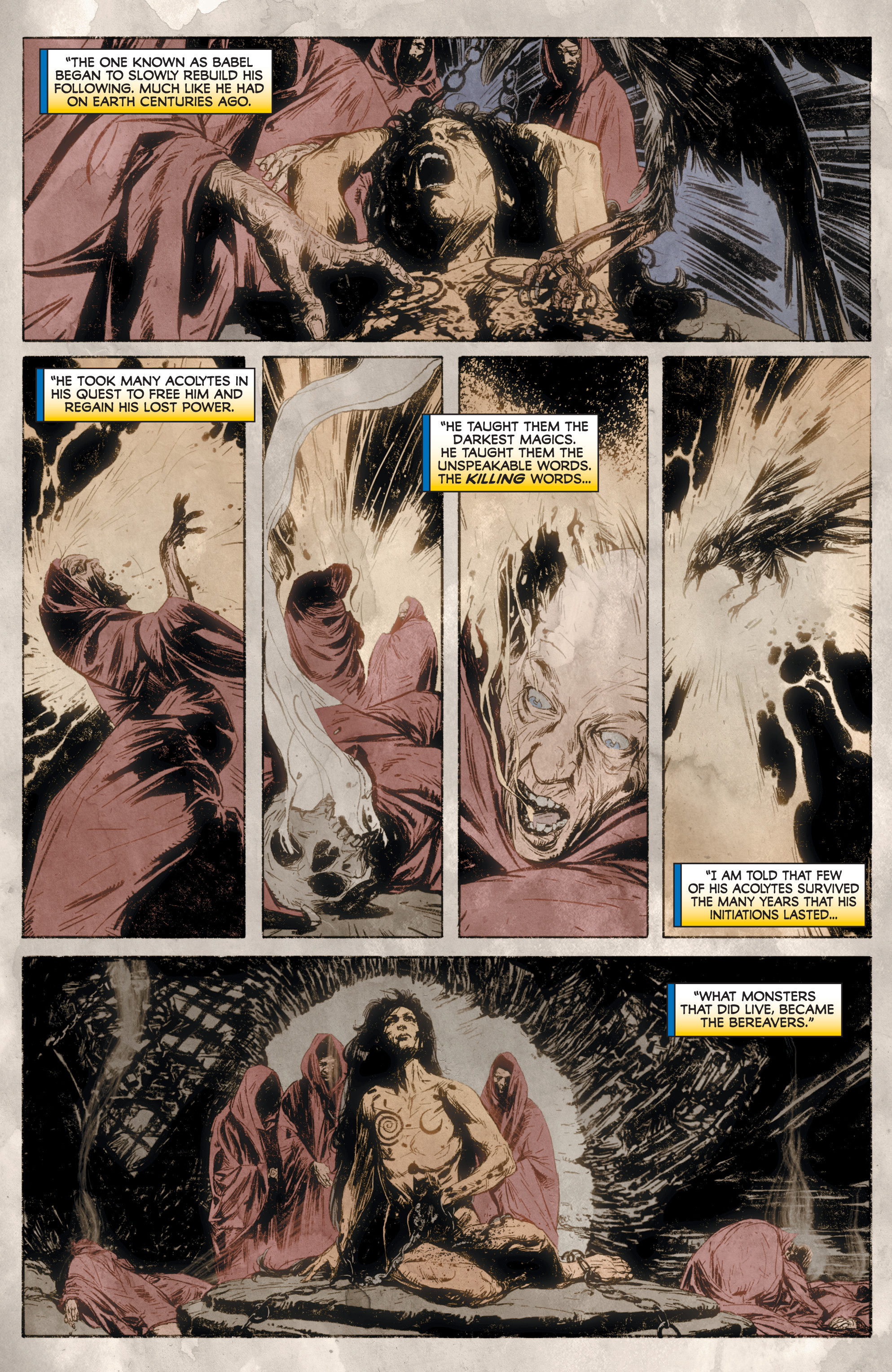 Read online Rapture comic -  Issue #2 - 11