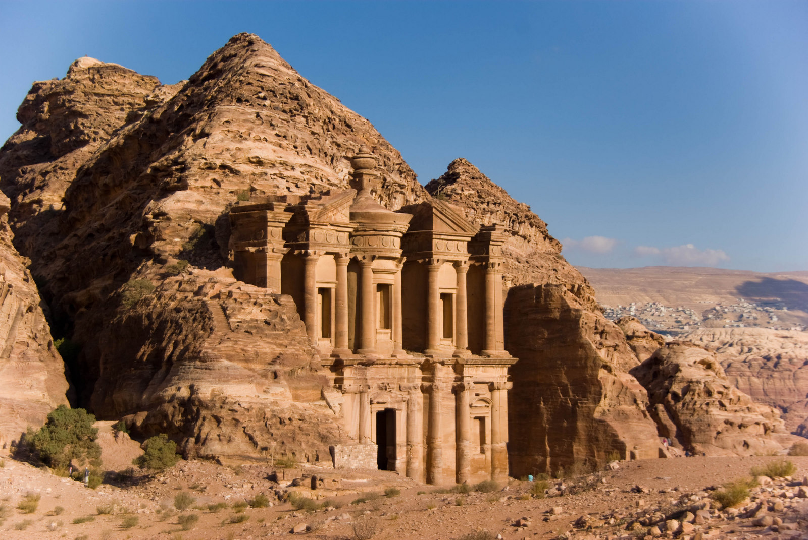 Petra Rock Is An Archaeological And Historical City In Jordan Well Known For Its Water Conduit System Cut Architecture Elished Around The