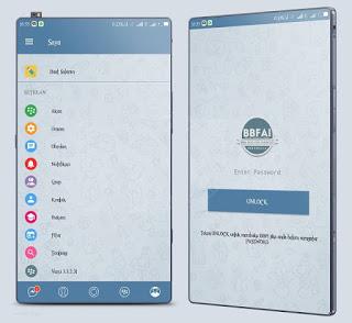 Download BBM Mod Telegram Style theme versi 3.3.2.32 Apk Terbaru - Wasildragon.web.id
