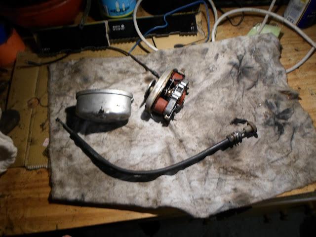 moteur essuie glace démonter