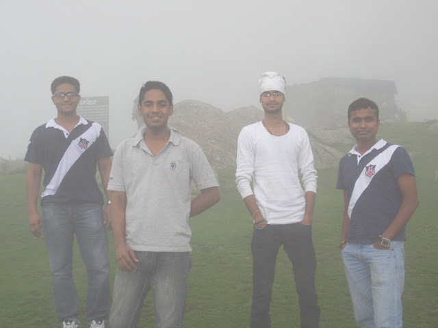 view in triund