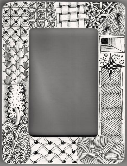 Zentangle Frames Framesite