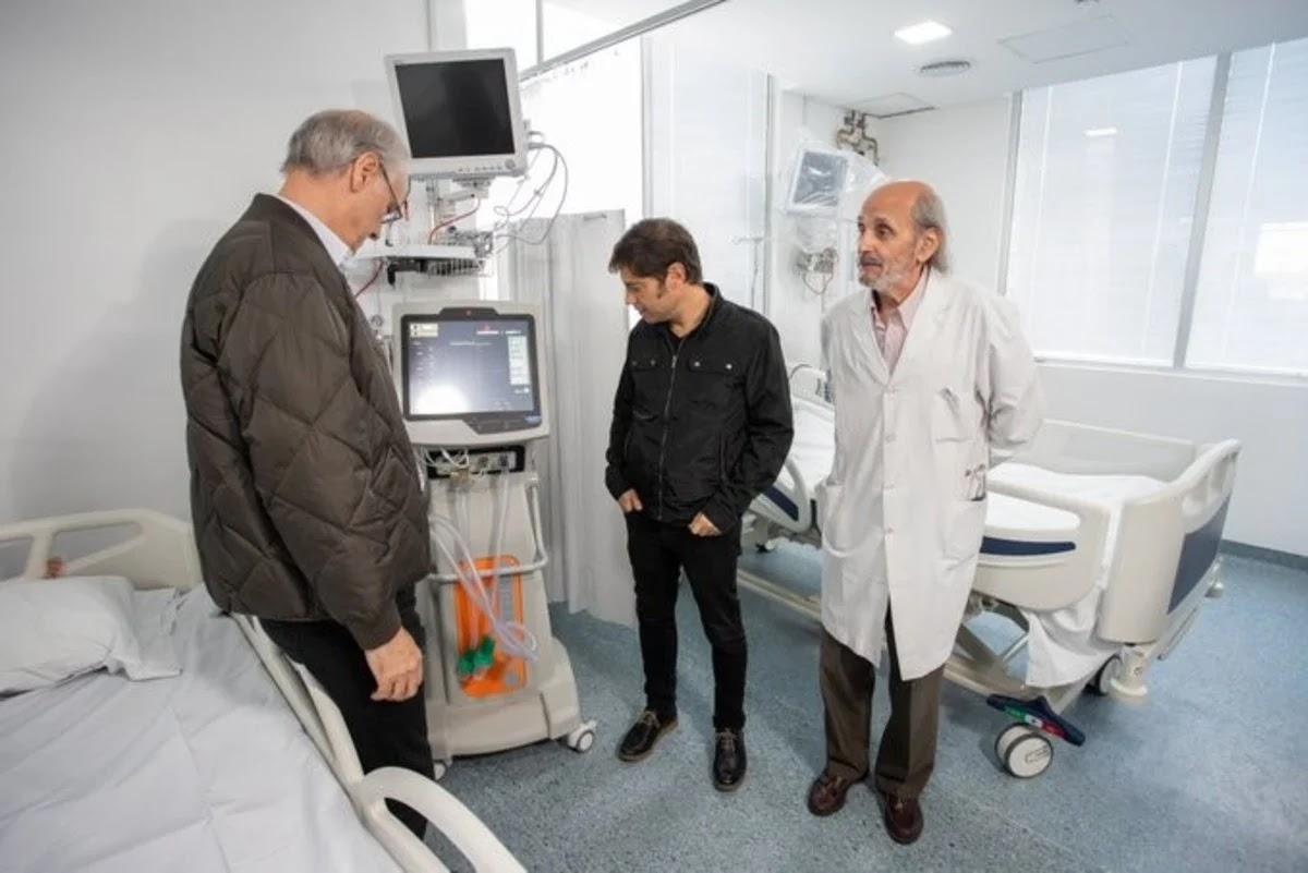 Kicillof se realizó el test para detectar coronavirus