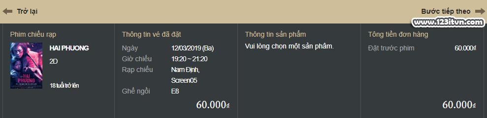 Hướng dẫn đặt vé Lotte Cinema online