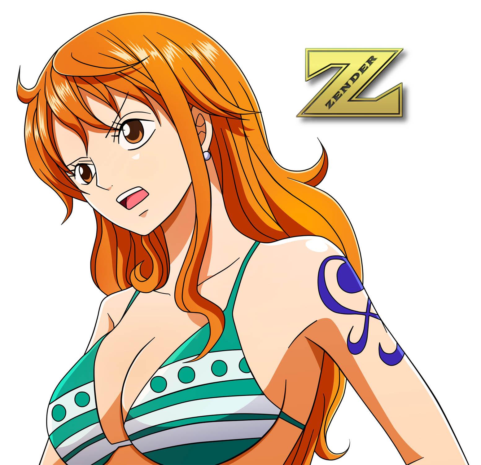 nami of one piece sexy bikini pics 04