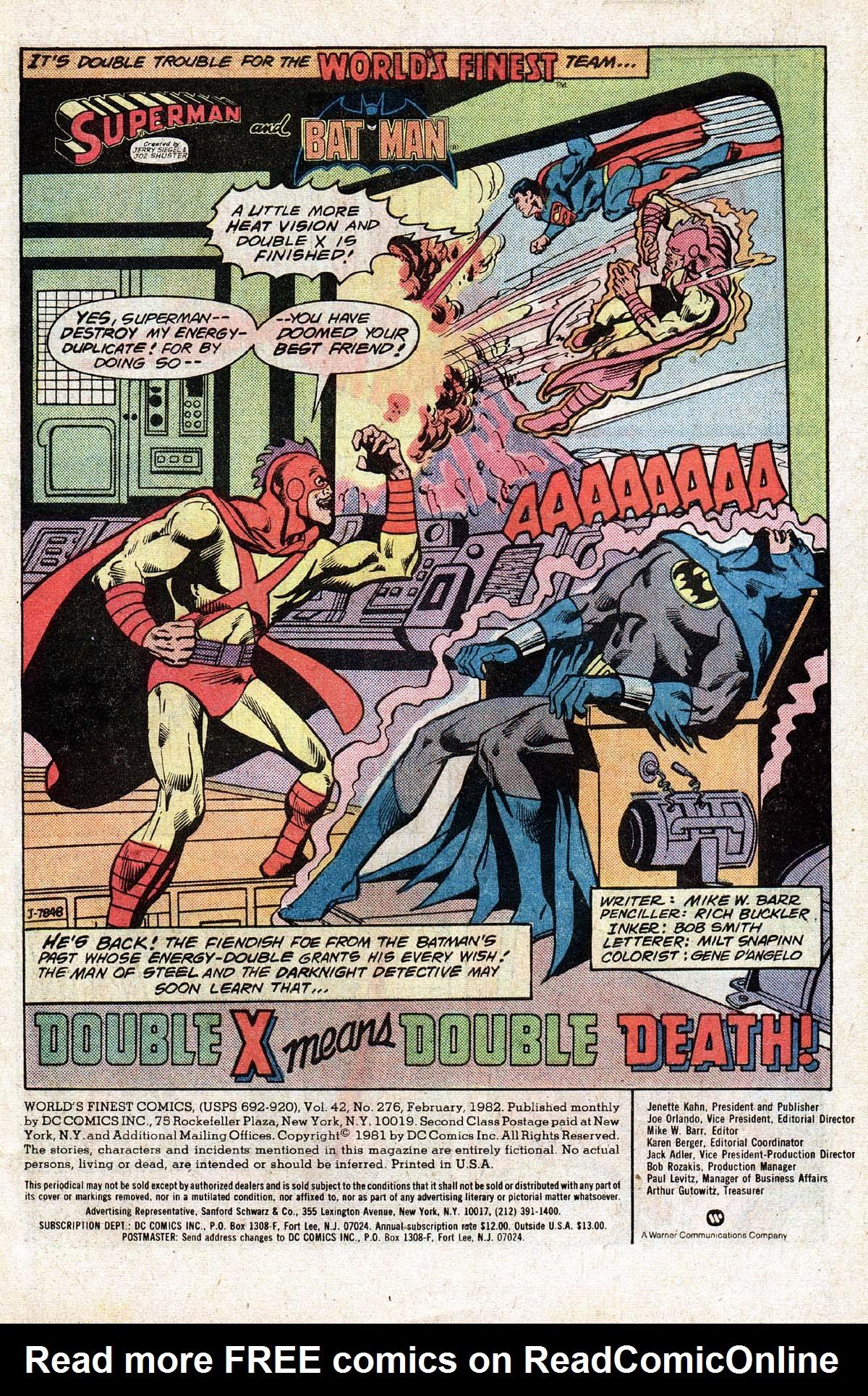 Read online World's Finest Comics comic -  Issue #276 - 3