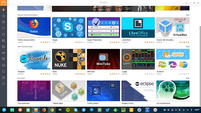 Linux Deepin Flatpak