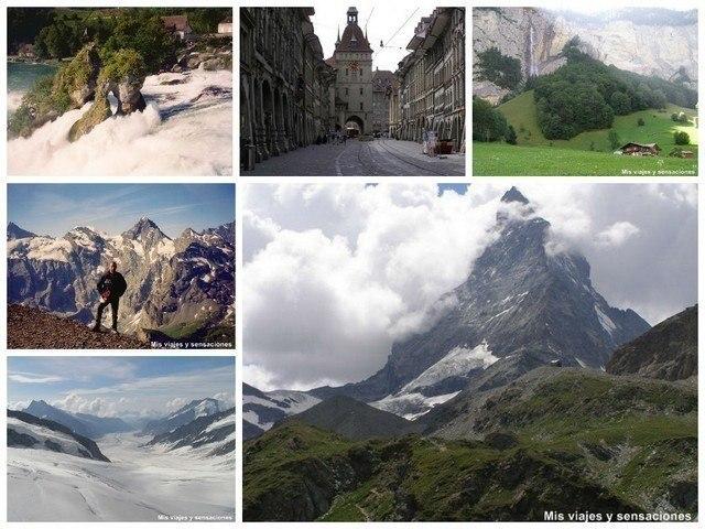 viaje por Suiza, Francia y España