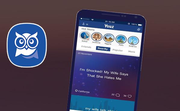 انطلاق تطبيق التواصل الإجتماعي السري Youz الجديد كبديل الفيسبوك