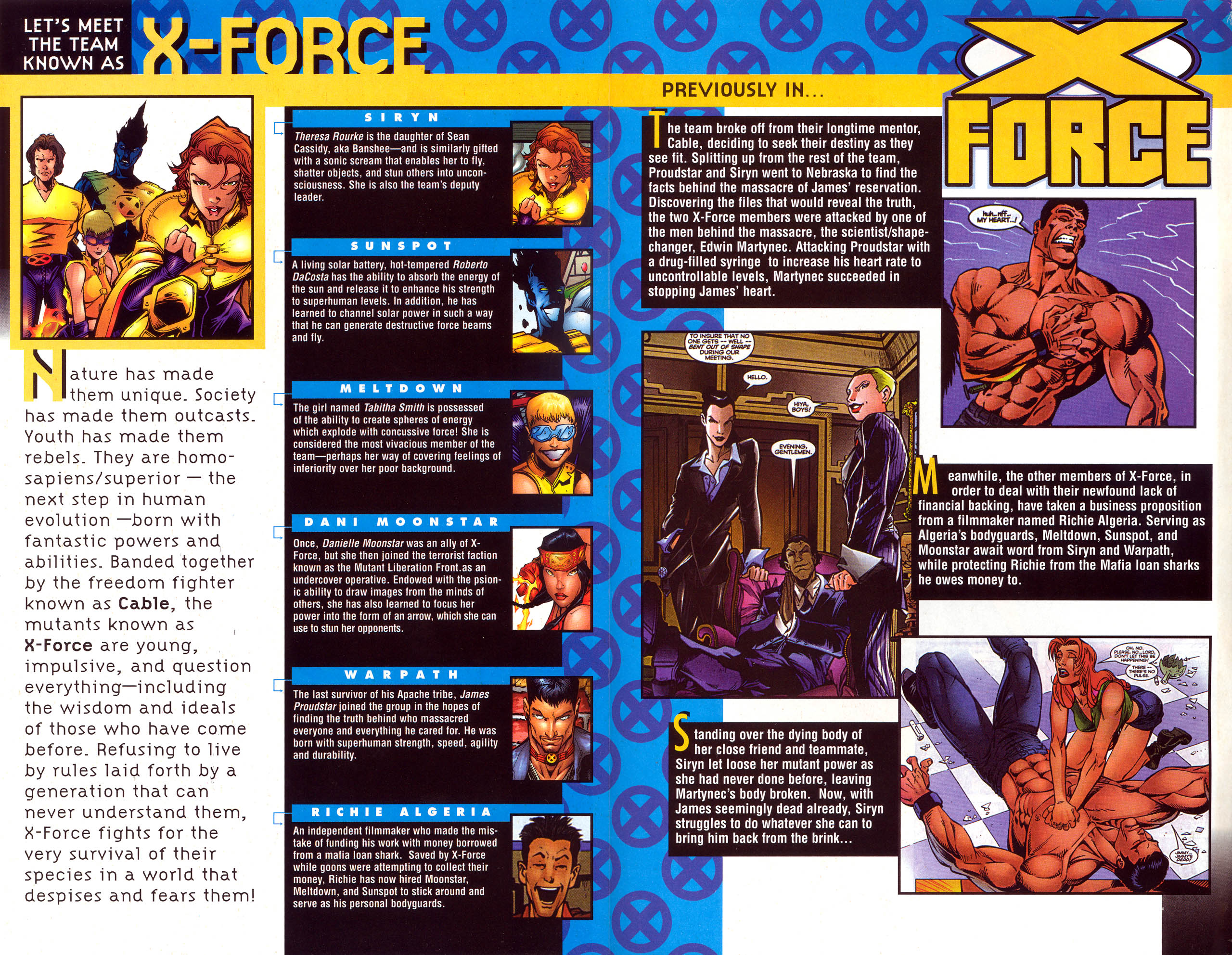 Read online X-Force (1991) comic -  Issue #74 - 3