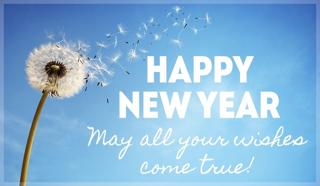 Happy New Year To You!