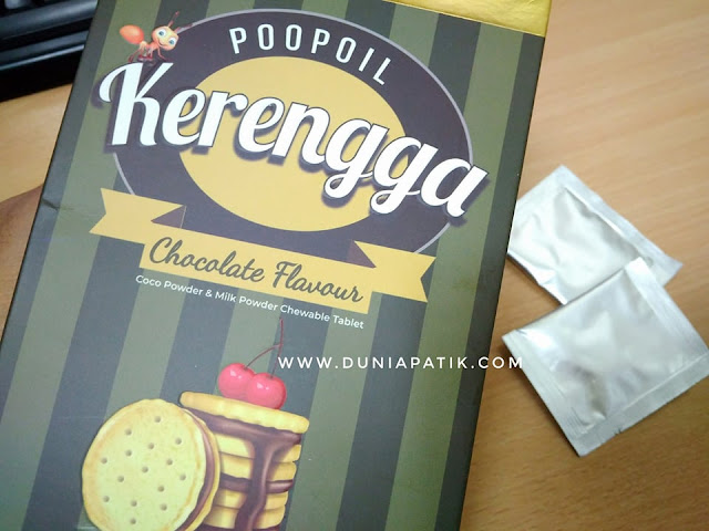 KERENGGA CHOCOLATE POOPIL
