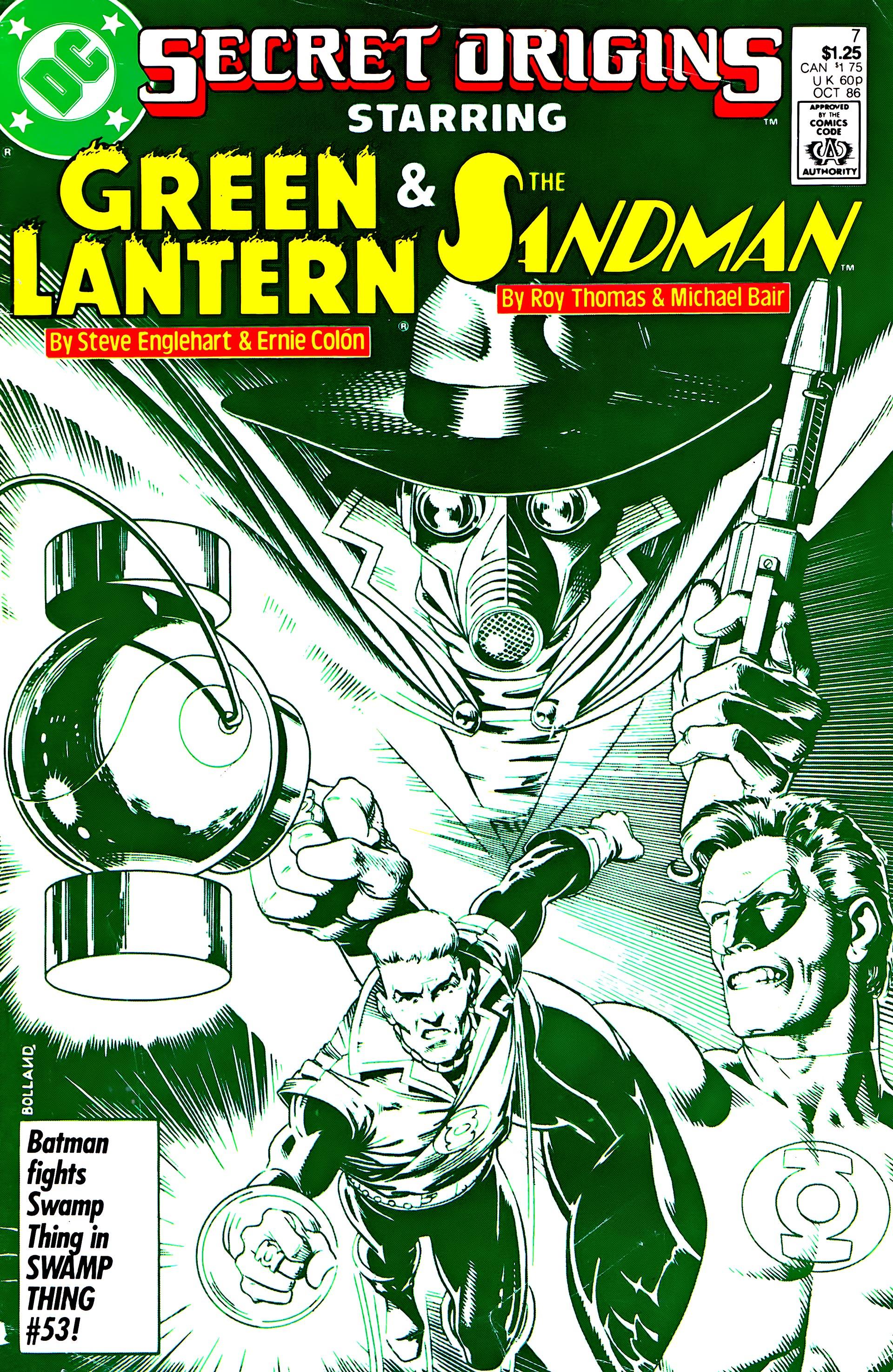 Read online Secret Origins (1986) comic -  Issue #7 - 1