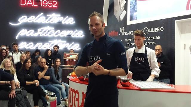 Cooking show di Simone Rugiati al Sigep 2018