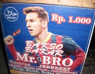 Messi Jualan Bakso