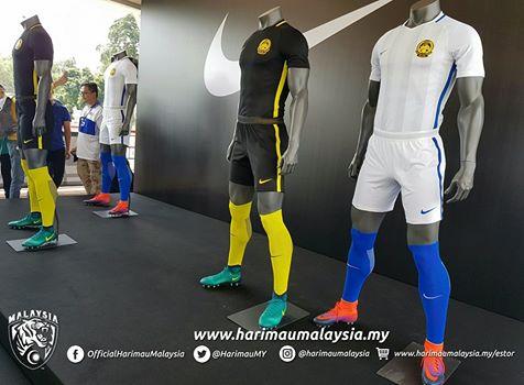 GAMBAR JERSI BARU HARIMAU MALAYSIA 2016 !
