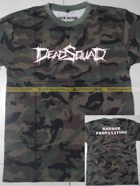 T-Shirt DEADSQUAD - Horror Profanation