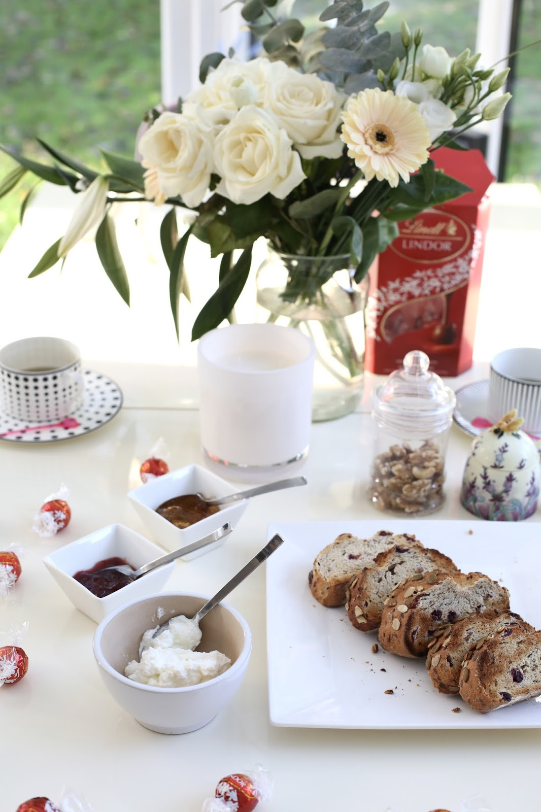 flatlay breakfast
