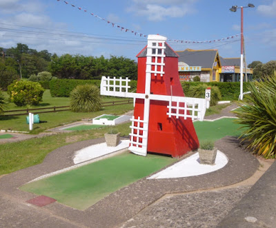 The Arnold Palmer Putting Course in Exmouth