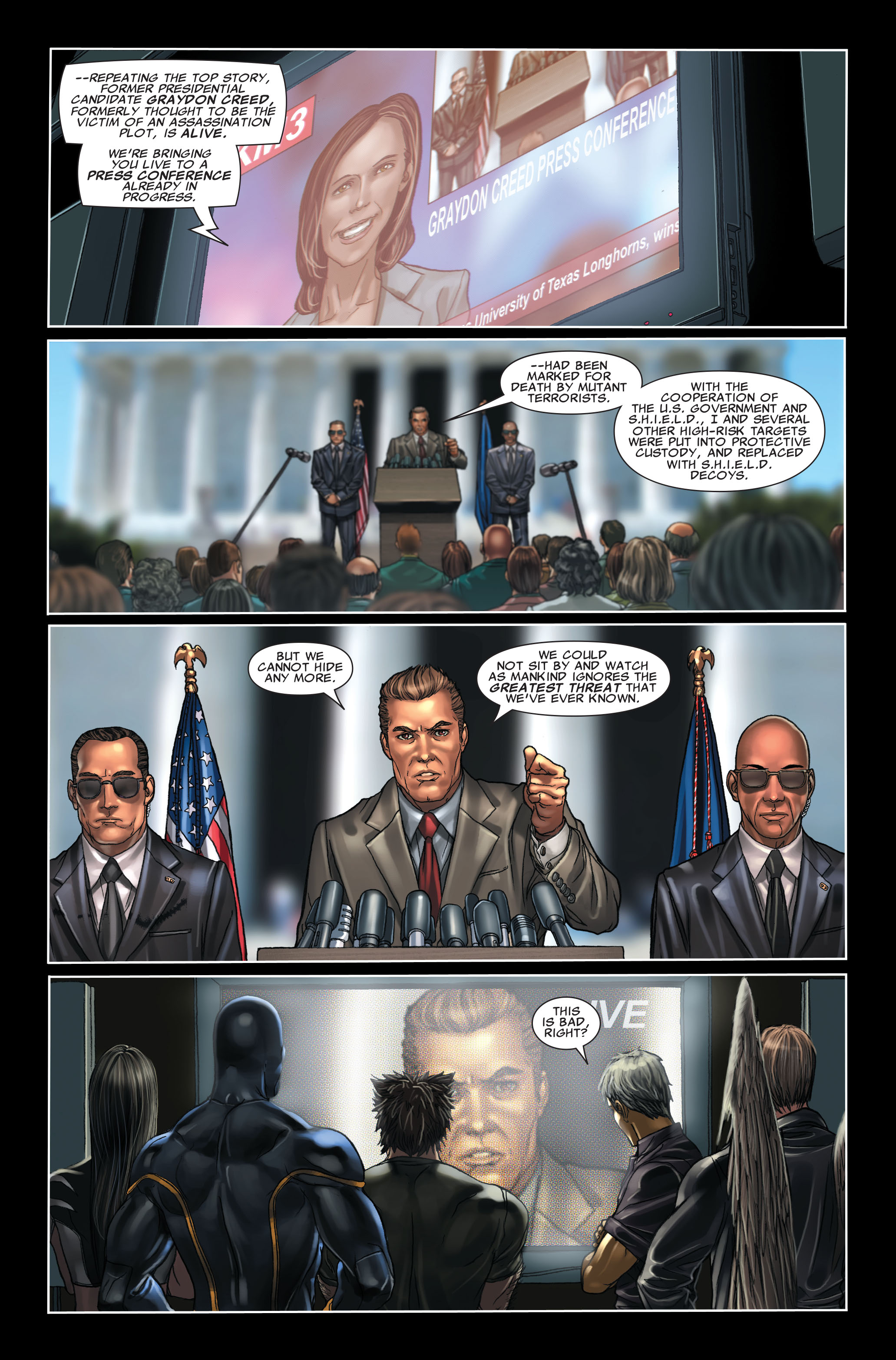 Read online X-Force (2008) comic -  Issue #7 - 18