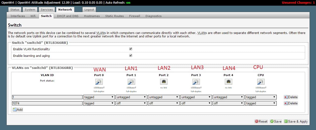Configuracion Router neutro con OpenWRT para FTTH (Jazztel