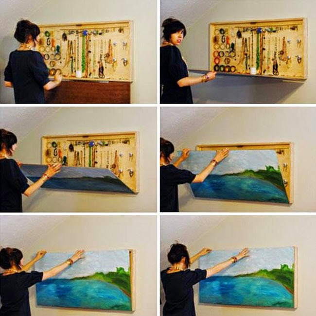 8 Ways To Hide Your Tv In Plain Sight: 15 Creative Ways To Hide The Eyesores In Your Home And