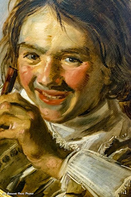 Frans Hals, 'Chico sonriente con flauta' - Staatliches Museum Schwerin - Staatliches Museum Schwerin por El Guisante Verde Project