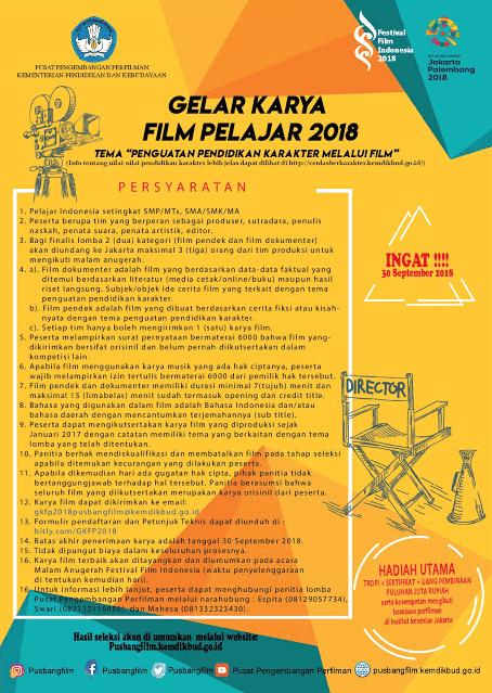 Gelar Karya Film Pelajar 2018 Kemendikbud