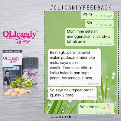 Image result for testimoni olicandy fattah amin