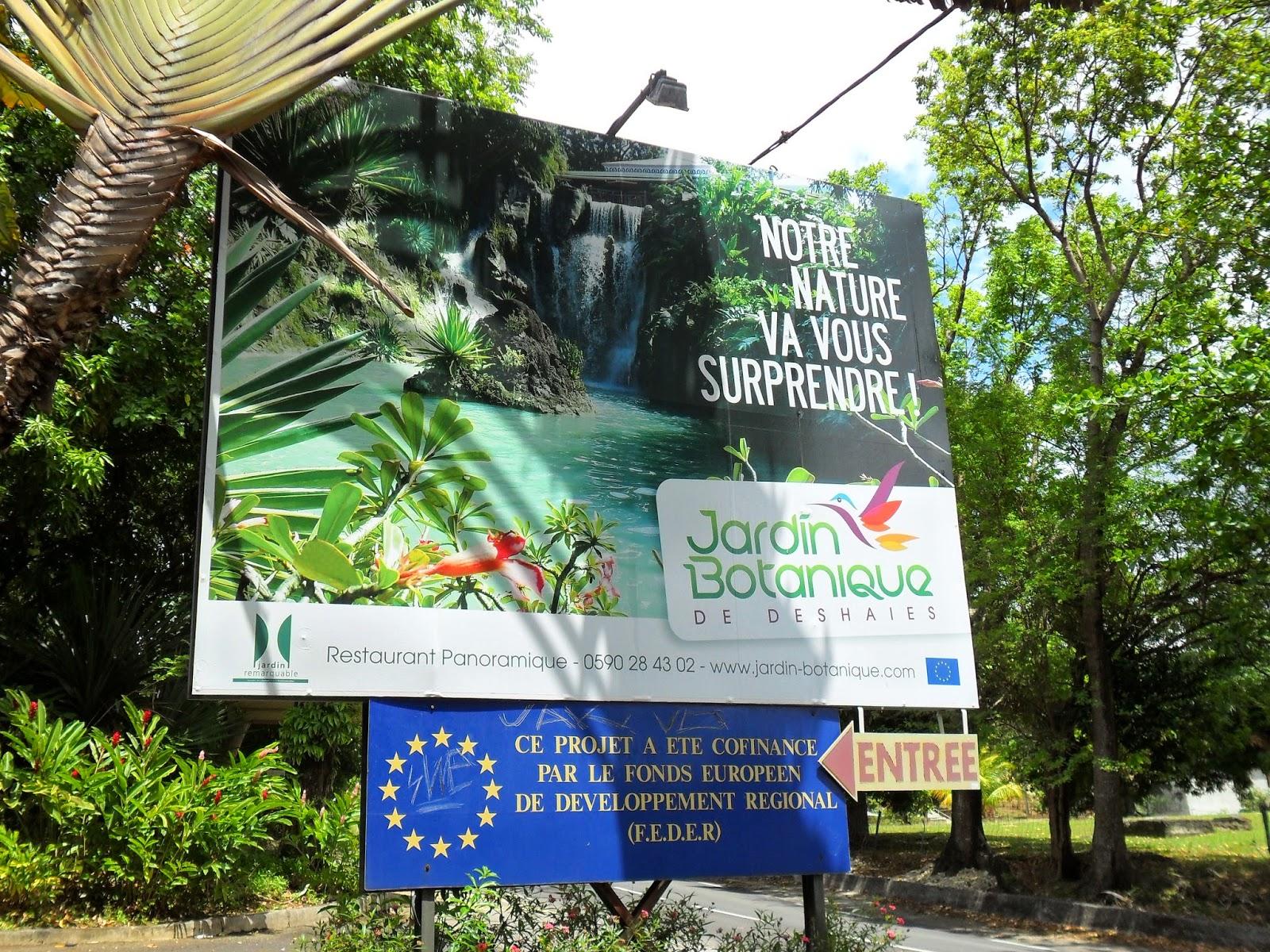 Visiter Le Jardin Botanique Deshaies Tourisme Guadeloupe Air