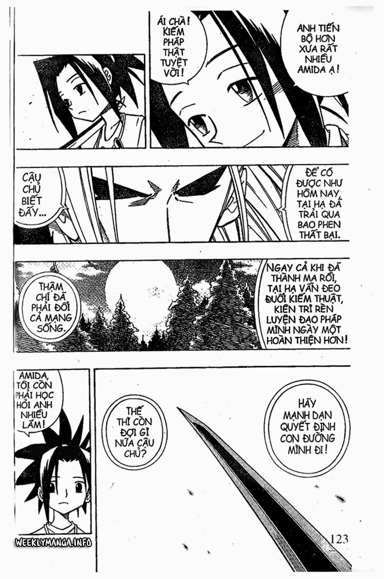 Shaman King [Vua pháp thuật] chap 209 trang 17