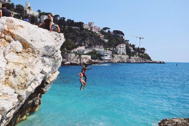 Praia Coco Beach em Nice