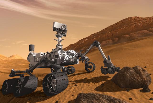Στο διάστημα τα πάμε καλά... - Ελληνες στέλνουν στη Γη εικόνα από τον πλανήτη Άρη