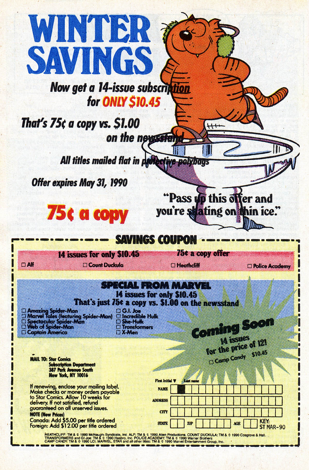 Read online ALF comic -  Issue #28 - 34