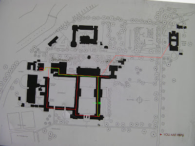 map of tunnels under merchant taylors school main buildings