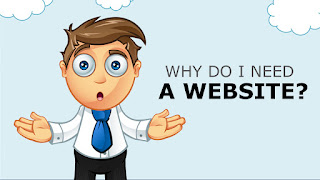 why need a website