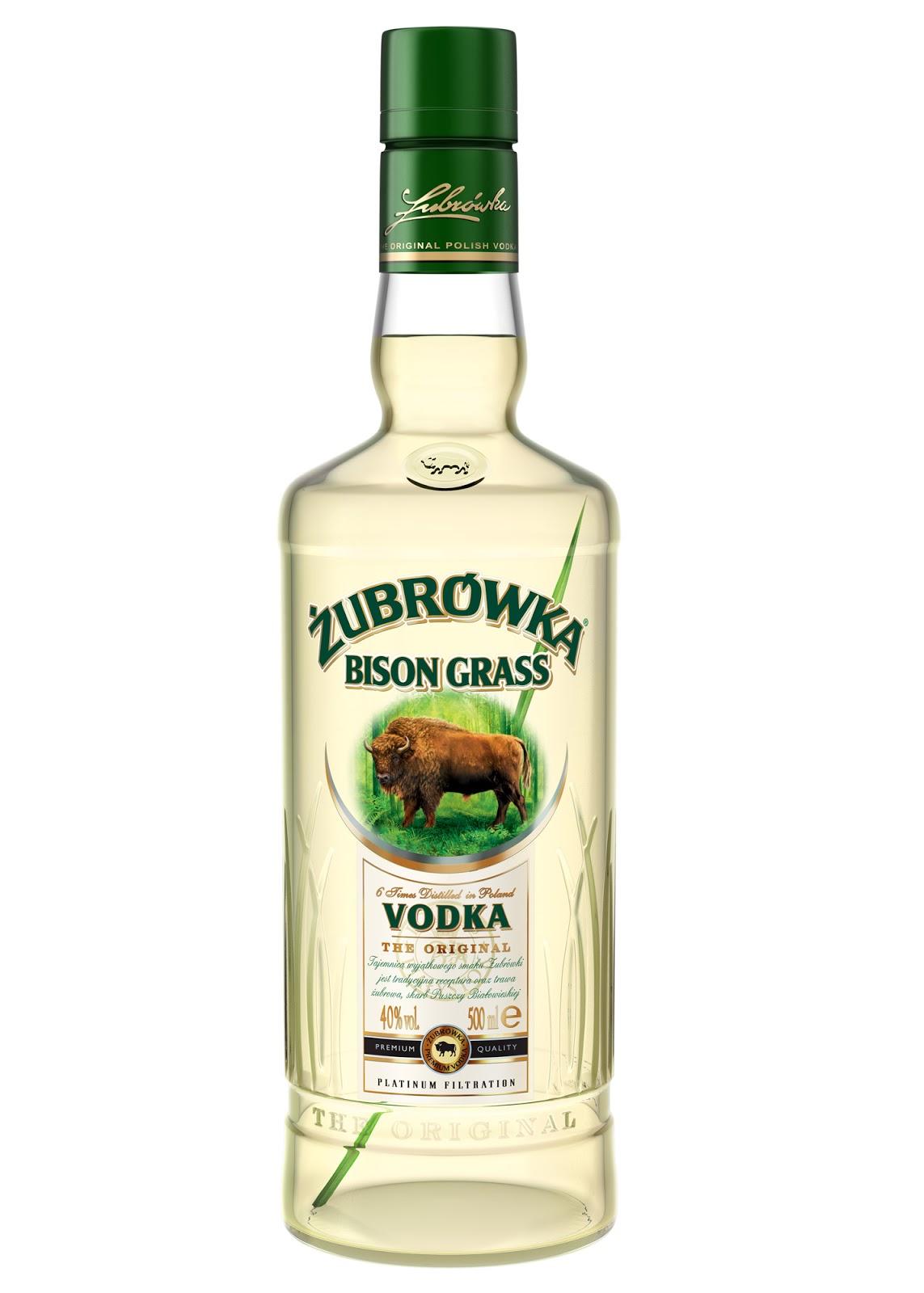 Wodka Büffelgras