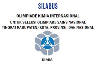 Silabus Olimpiade Kimia Internasional OSN Tingkat Kabupaten