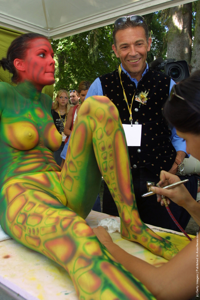 Best Hd Wallpapers Collection Hot Body Painting Wallpapers Hd-7607