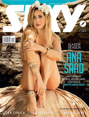 Baixar Sexy: Anna Saad Março 2017