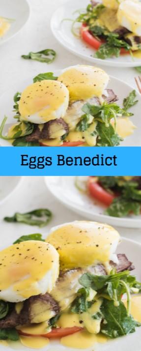 Steak and Lemon  Eggs Benedict