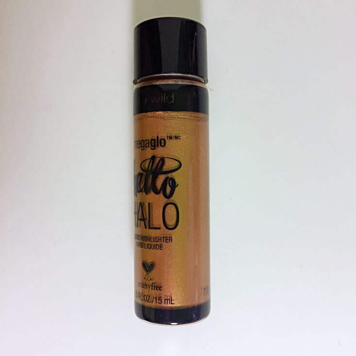wet n wild megaglo Hello Halo Liquid Highlighter Go With the Glow