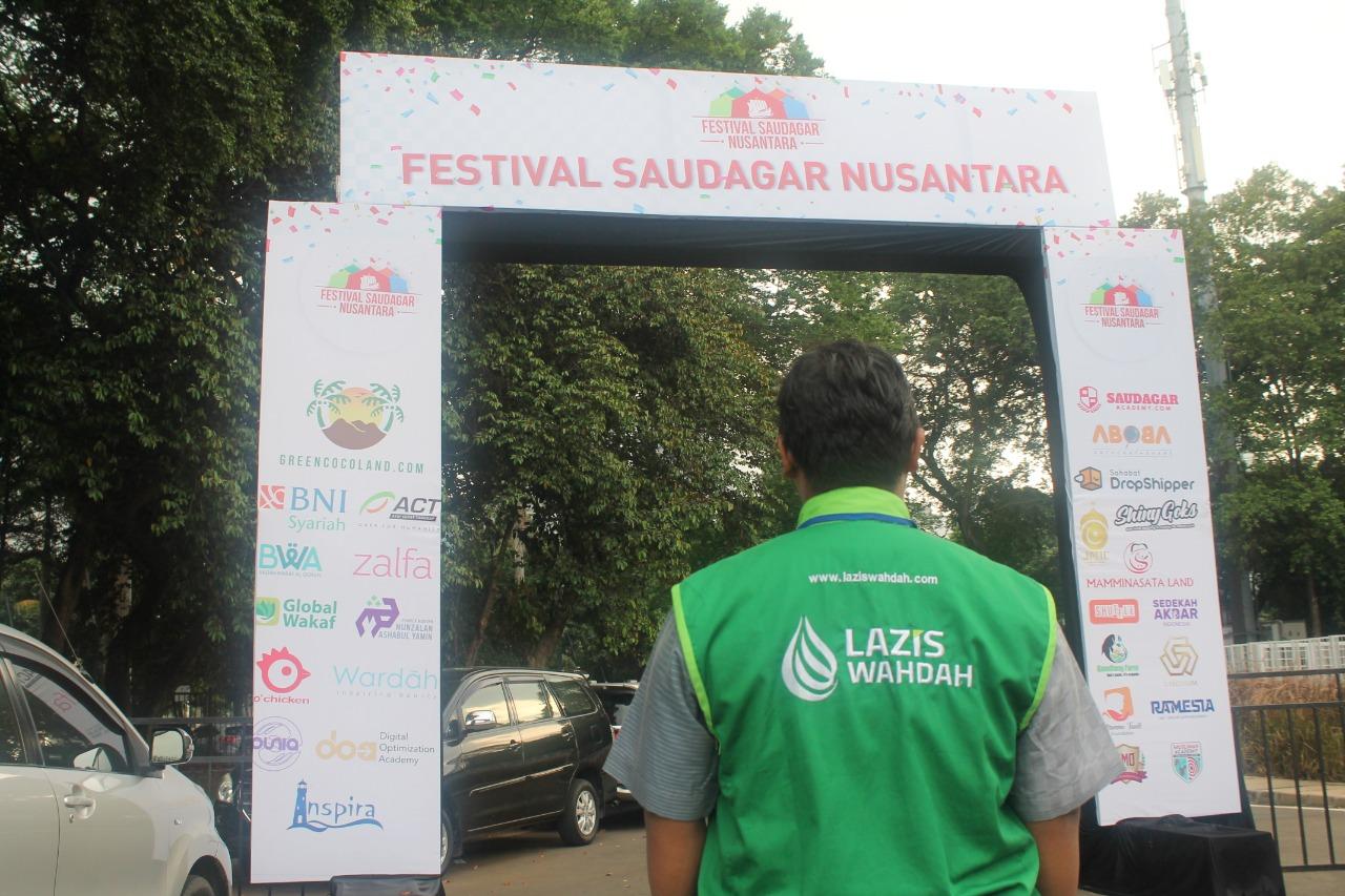 LAZIS Wahdah Meriahkan Festival Saudagar Nusantara