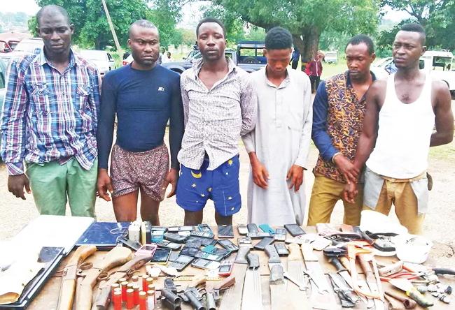 armed robbers oyo ilorin ogbomoso